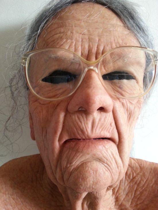 masque silicone visage femme
