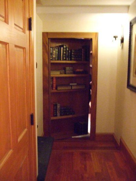 Un Passage Secret Vers Une Biblioth Que Comme Dans Les Films