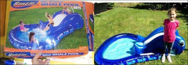 M fiez vous avant d 39 acheter une piscine gonflable vos for Acheter une piscine gonflable