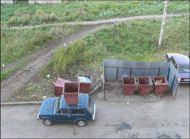 Des voitures mal garées - 14