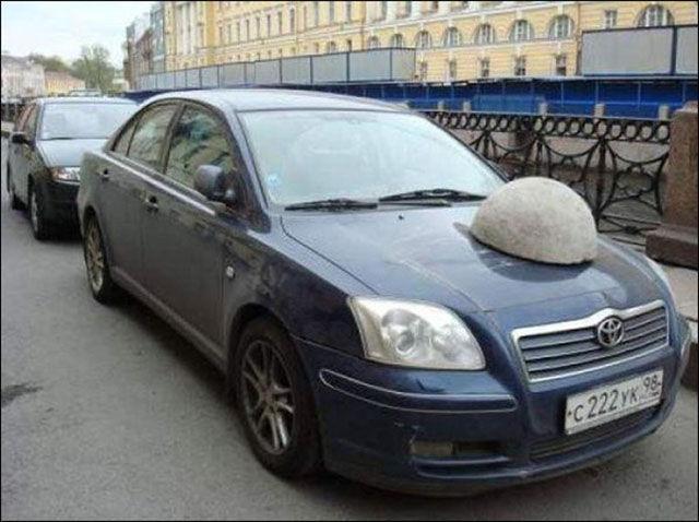Des voitures mal garées - 3