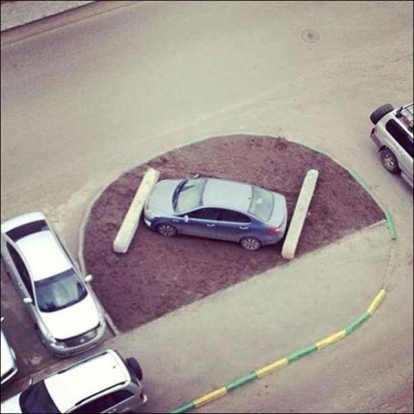 Des voitures mal garées - 6