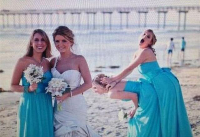 photo plutôt marrante  un mariage merveilleux avec un homme...