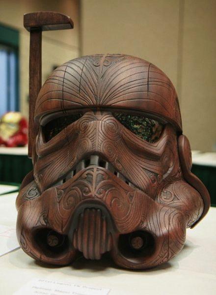 Sculptures étonnantes réalisée à partir de bois