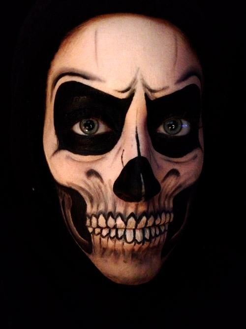 Se Maquiller En Squelette Pour Halloween